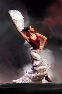 Flamenco print 2