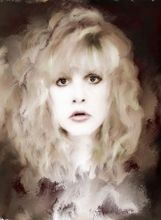 Stevie Nicks portrait by Brian Tones - Brian Tones