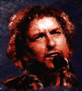 Bob Dylan Portrait be Brian Tones