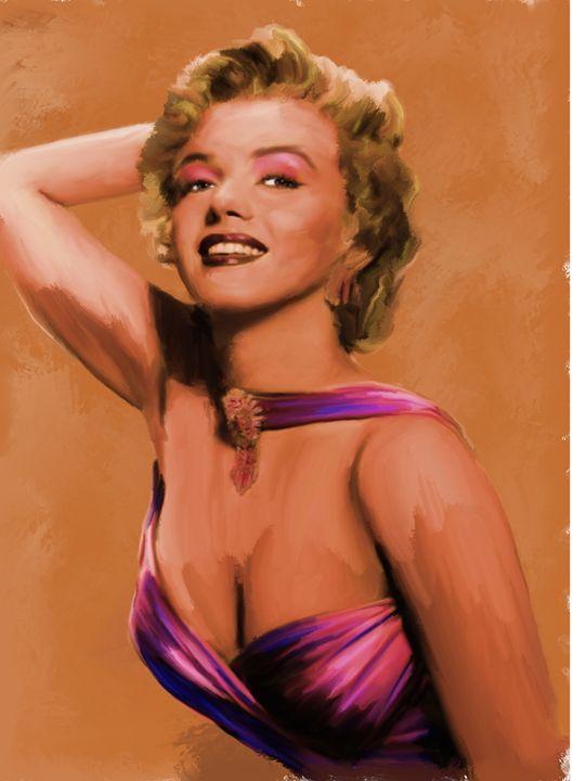 Classic Marilyn by Brian Tones - Brian Tones