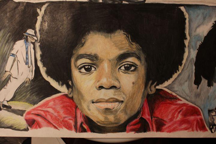 KING MJ - ArtbyTK