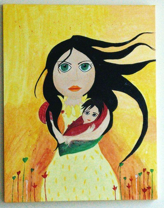 Loving Mother - Handmade Art Attack