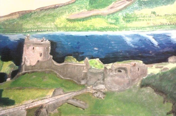 Urquhart Castle Loch Ness Scotland - Tempia