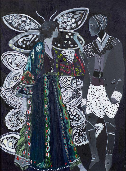 Purple Summer - Marcia Biasiello Artist