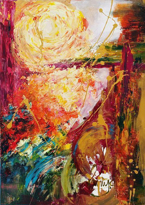 Vicious Sunset - Original painting - RStudio.gallery