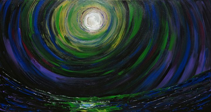 Full Moon over the sea - eriktanghe