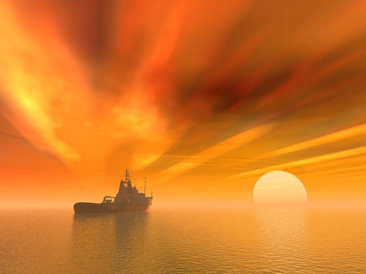 sailing to the sun - eriktanghe