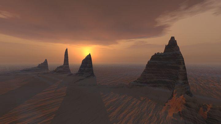 Desert peaks - eriktanghe