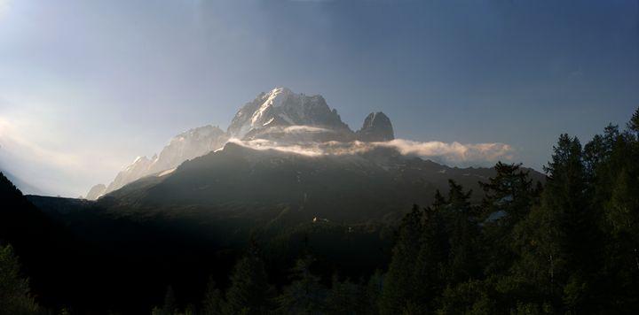Aiguille verte in Chamonix - eriktanghe