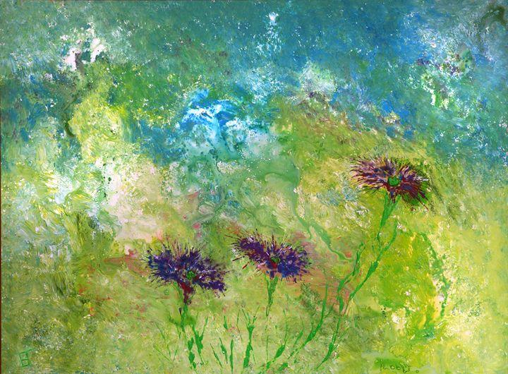 Purple Flowers - eriktanghe