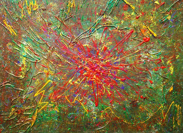 Abstract Flower - eriktanghe