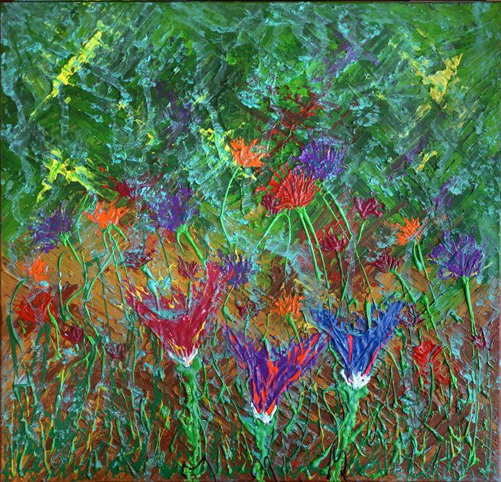 Flowers during a rainshower - eriktanghe