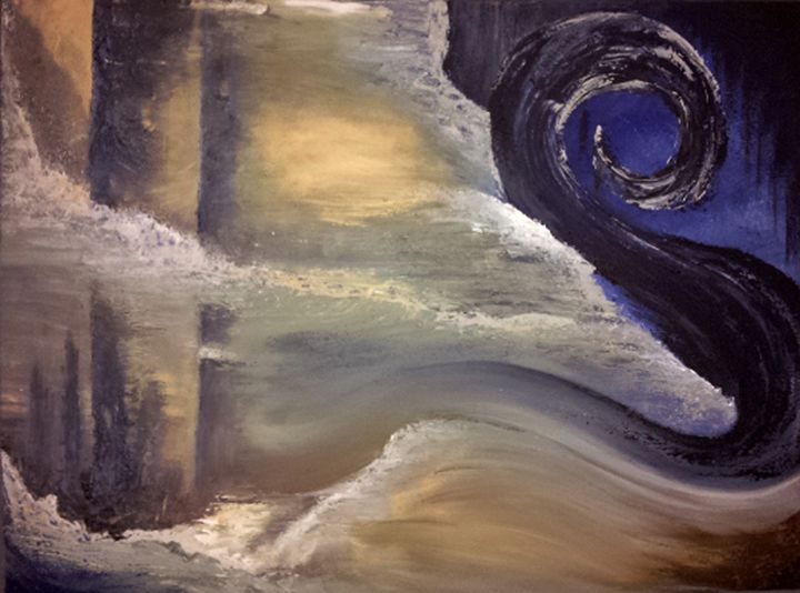 Aftermath (Original Sold) - Bachi Art