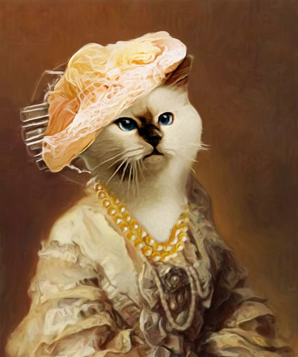 Lady Kitty Cat - Ros Ruseva