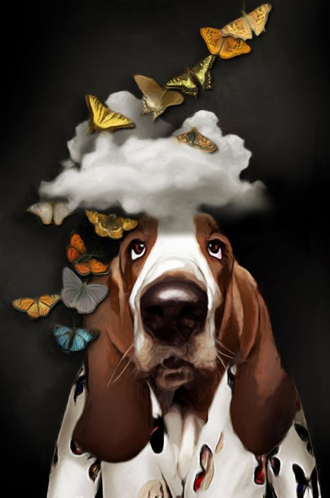 Dreaming dog - Ros Ruseva