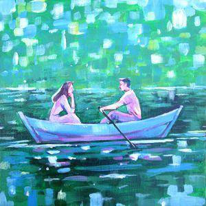 Summer Romance Painting
