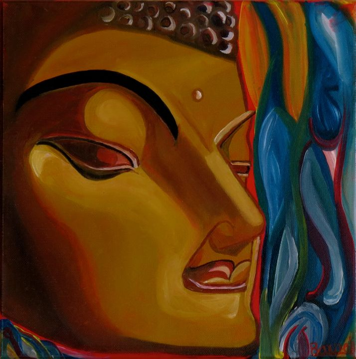 BUDDHA..........a Spiritual Leader - My Paintings