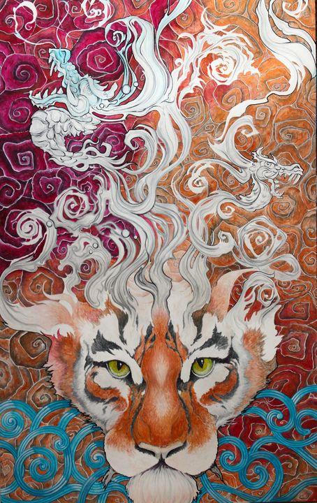 Dragons and Cinnamon Buns - Damonsart