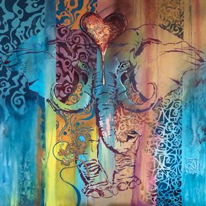 Elephant Heart - Damonsart