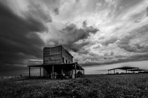 Standing Through the Storm - Tales of Texas Photography