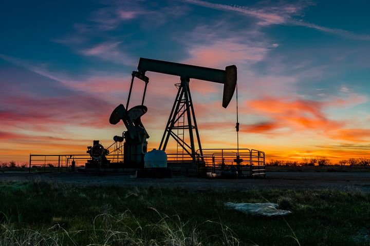 Pumpjack Sunrise - Tales of Texas Photography
