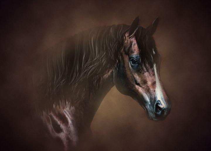 Horse - Digital Animals Art