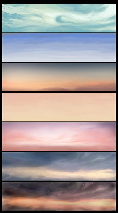 Skies Set - Handmade Rainsticks
