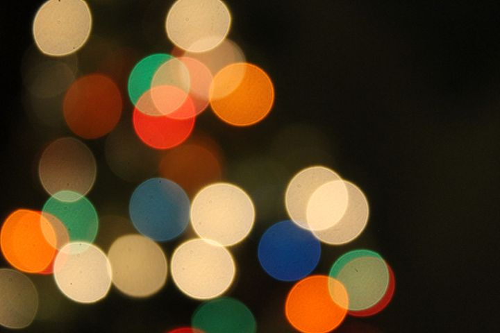 christmas lights - art