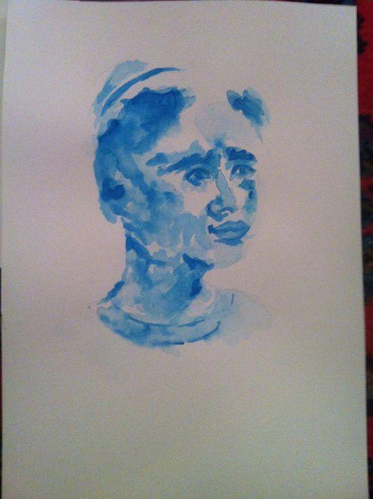 Blue man - fariba