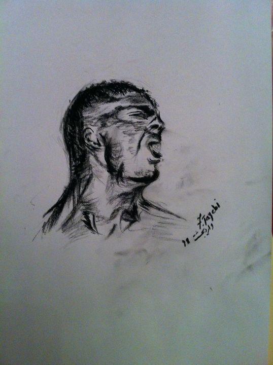 Angry man - fariba