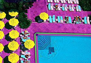 """Copa Pool Rio - Jane Gottlieb """"Dreamscapes"""""""