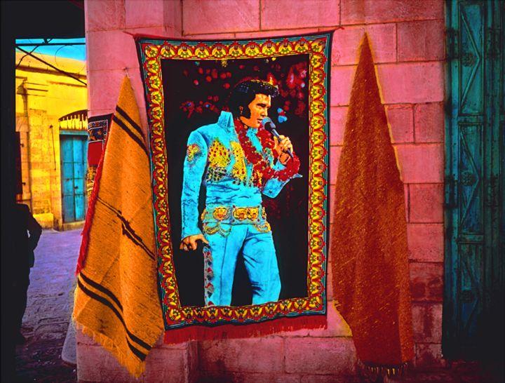 "Elvis in Jerusalem - Jane Gottlieb ""Dreamscapes"""