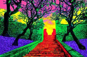 "BALI STEPS - Jane Gottlieb ""Dreamscapes"""