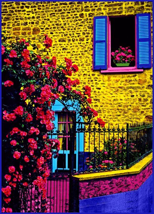 "Back Door - Jane Gottlieb ""Dreamscapes"""
