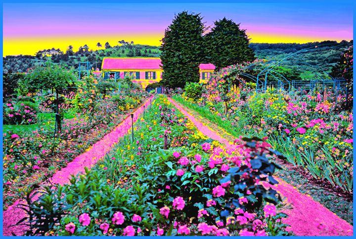 """Monet's Home - Jane Gottlieb """"Dreamscapes"""""""