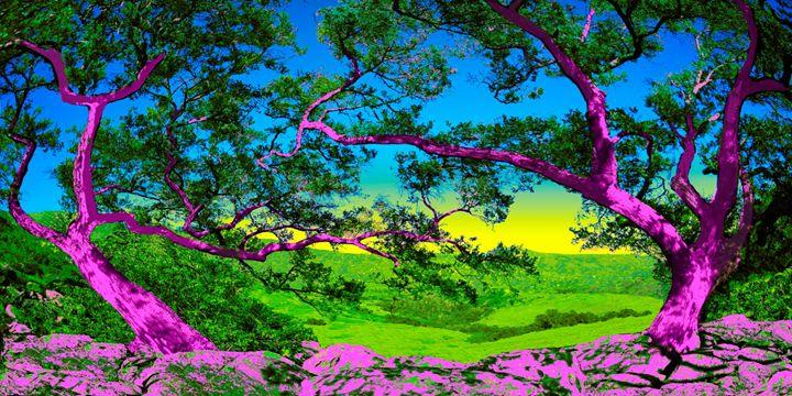 "Pink Oaks - Jane Gottlieb ""Dreamscapes"""