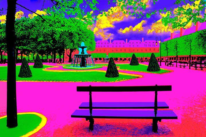 """Place des Vosges - Jane Gottlieb """"Dreamscapes"""""""