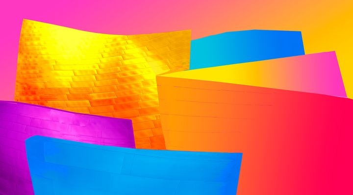 "Disney Hall Graphics - Jane Gottlieb ""Dreamscapes"""