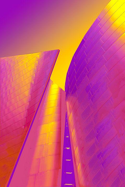 "Disney Hall Detail - Jane Gottlieb ""Dreamscapes"""
