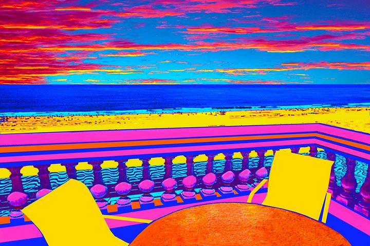"Coacabana Beach - Jane Gottlieb ""Dreamscapes"""