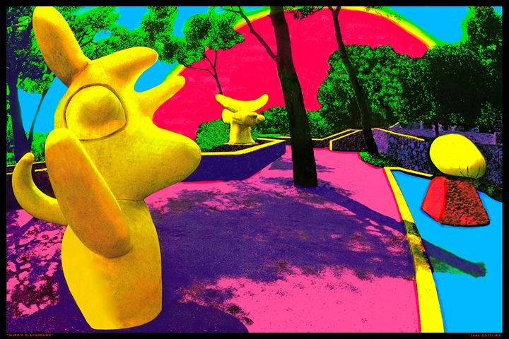 "Miro'sPlayground - Jane Gottlieb ""Dreamscapes"""