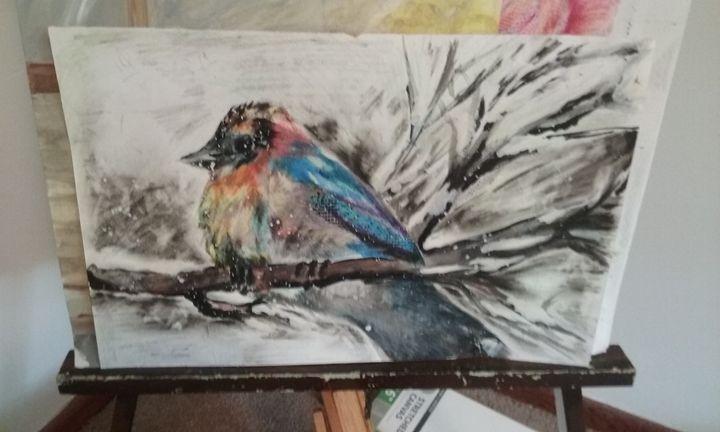Winterbird - klrose