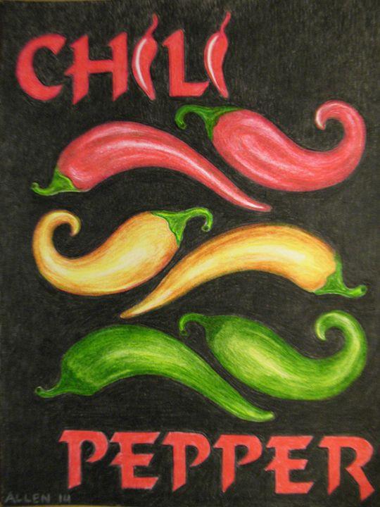 Chili Peppers - Abundant Treasures