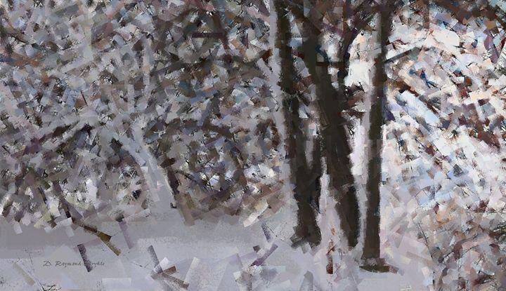 Green Ash in Winter Gray - D. Raymond-Wryhte