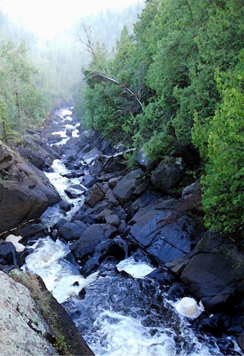 Cascade Mist - D. Raymond-Wryhte