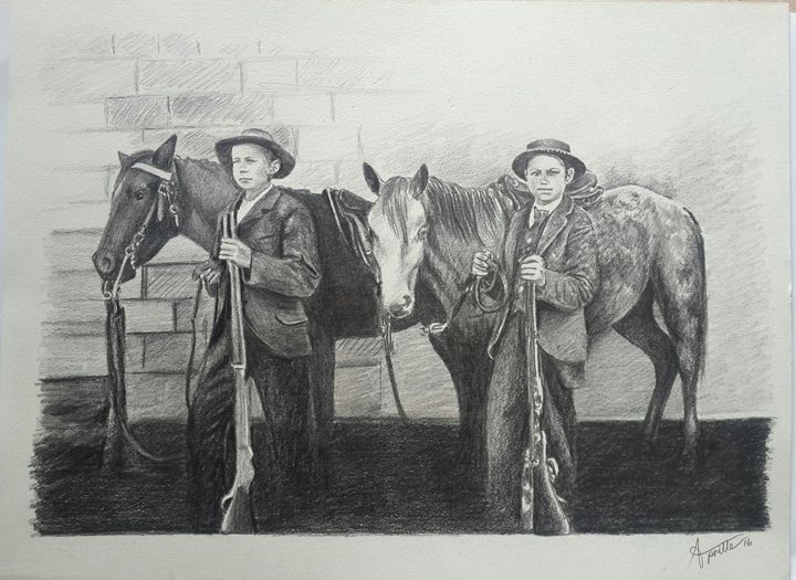 Boer Children of the War - Aprille De Carvalho ~ Artist