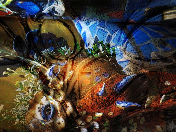 Faceplate - Marie C. Jones Digital Art