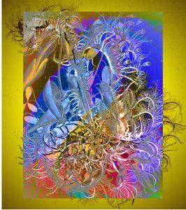 Heron - Marie C. Jones Digital Art