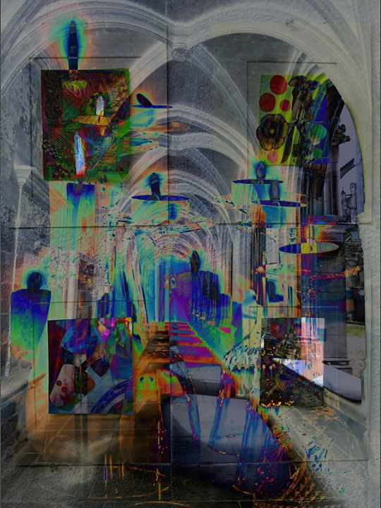 Silver Gallery - Marie C. Jones Digital Art