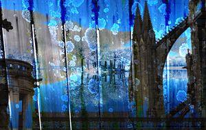 Flying Buttresses - Marie C. Jones Digital Art